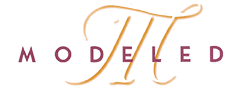 Muebles Modeled Logo